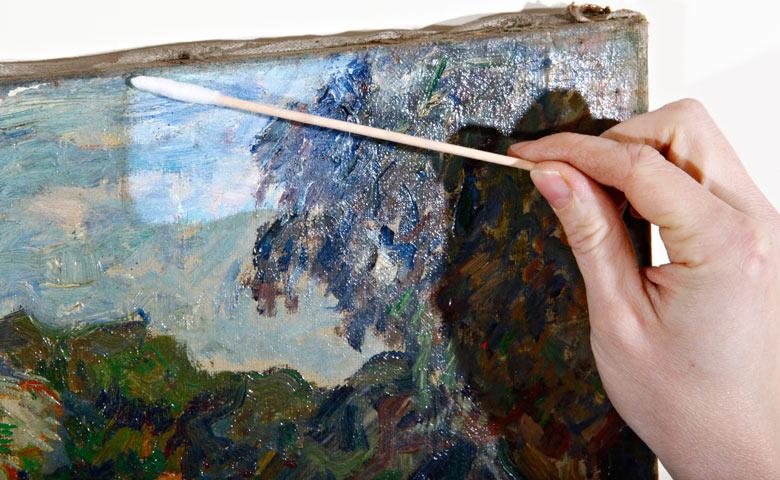 Beliebt Restaurierung Gemälde auf Leinwand Ölgemälde | Kunstkonservierung FU03