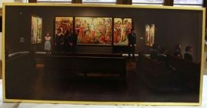 Tobias Vollmer, Museale Andacht,  Restaurierung, Altar Köln